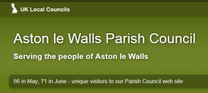 Vacancy on Aston le Walls Parish Council